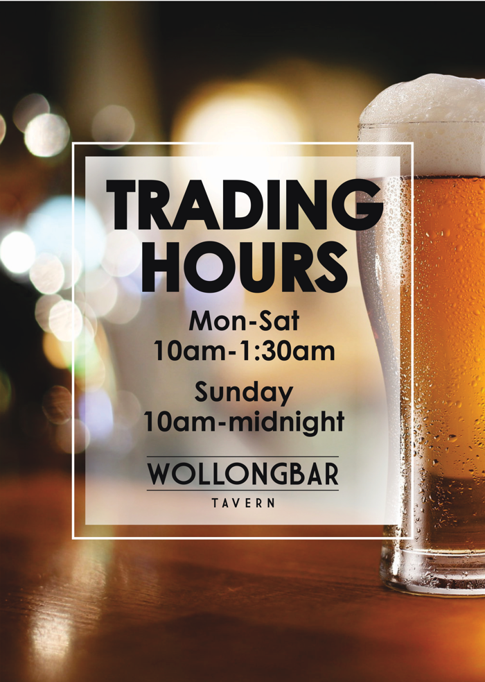 Trading Hours Dec2018